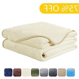 EASELAND Luxury Super Soft Twin Size Blanket Summer Cooling