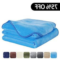 EASELAND Luxury Super Soft Queen Size Blanket Summer Cooling