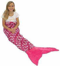 Sleepyheads Mermaid Tail Blanket Super Soft Fleece Sleeping