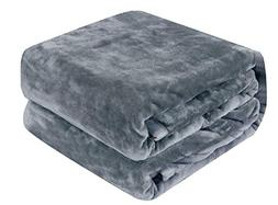 Qbedding Microplush Fleece Blanket, Flannel Microfiber All S
