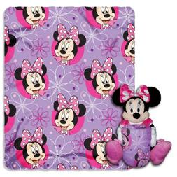 "Disney's Minnie Mouse, ""Minnie Bowtique"" Character Pillow an"