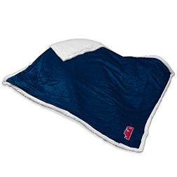 NCAA Mississippi  24 - Sherpa Throw by Logo Brands
