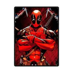 New Deadpool Comic Fleece Blanket M L