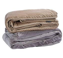 New BlanQuil Quilted Weighted Therapy Blanket