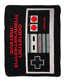 Nintendo Controller Super Soft Fleece Throw Blanket 48x60