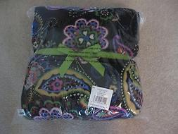 "NWT VERA BRADLEY 50""X 80"" MICRO-FLEECE THROW BLANKET IN KIEV"