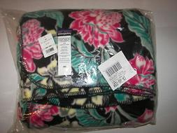 NWT NEW Full Print Floral PATAGONIA Synchilla Fleece Fabric