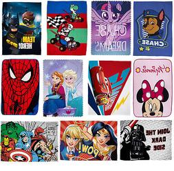 Official Kids Character Novelty Super Soft Fleece Blanket Th