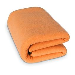 Deconovo Thermal Soft Brush Microfiber Fleece Blanket Super