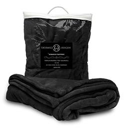 Higher Comfort Oversized Luxuriously Soft Throw Blanket - Ri