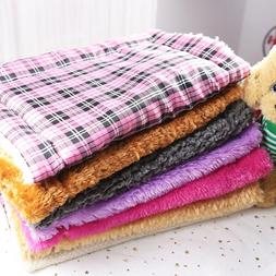 Pet Blanke Soft Warm Flannel Pet Mat Colorful Soft Winter Ca