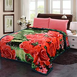 Jml Plush Crystal Velvet Heavy Blanket - Made of 750 GSM Mic