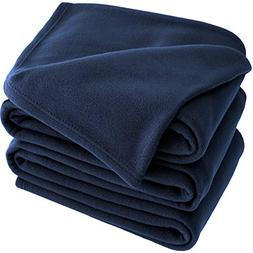 Bare Home Polar Fleece Cozy Bed Blanket - Hypoallergenic Pre
