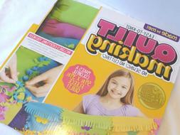 Quilt Making Kit Easy to Knot NEW Fleece Crafts No Sew Kids