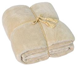 Napa All Season Ultra Soft Fuzzy MicroPlush Velvet Bedspread