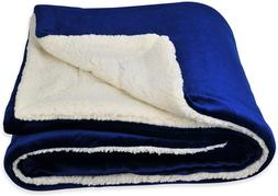 SOCHOW Sherpa Fleece Throw Blanket, Double-Sided Super Soft
