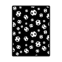 High Quality And Comfortable Soccer Ball Custom Blanket 58""