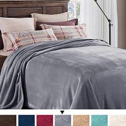 H.VERSAILTEX Fleece Blanket Queen Super Soft Throw Blanket L