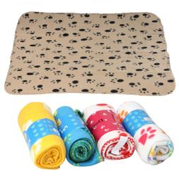 Soft Cozy Pet Blanke Soft Warm Flannel Pet Mat Colorful Soft