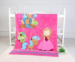 Soft Fleece Baby Blanket Toddler Blanket Perfect for Toddler