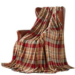 Soft Warm Throw Blanket Decorative Home Couch Outdoor Travel