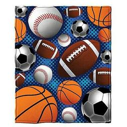 Dawhud Direct Sports Super Fan Fleece Throw Blanket