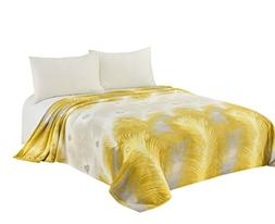 CaliTime Super Soft Throw Blanket for Bed Sofa Couch, Cozy W