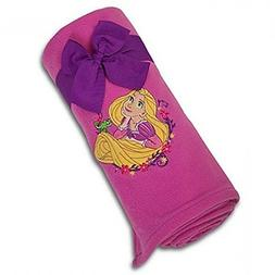 DISNEY TANGLED RAPUNZEL THROW BLANKET FLEECE EMBROIDERED 50