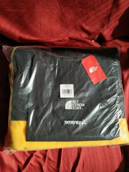 Supreme The North Face Arc Logo Denali Fleece Blanket Yellow