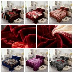 Thick Blanket Heavy Fleece Blanket Korean Style Raschel blan