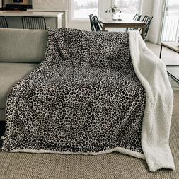 Graced Soft Luxuries Throw Blanket Sherpa Fleece Minky Micro