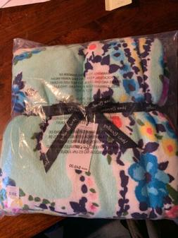 Vera Bradley Throw Blanket WildFlower Paisley NWT