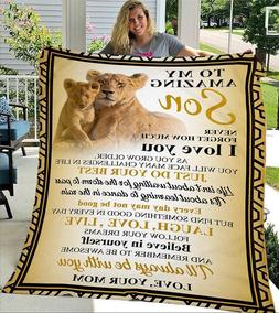 To My Amazing Son Birthday Gift From Mom Love Quotes Lion Vi