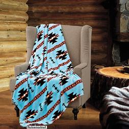 TURQUOISE Native Luxury Soft Light Weight Fleece Cashmere Th