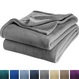 Bare Home Ultra Soft Microplush Velvet Blanket - Luxurious F