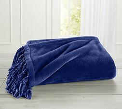Ultra Velvet Plush Super Soft Blanket. Lightweight Throw Bla