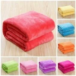 Warm Throw Super Soft Plush Velvet Blanket Sofa Home Bed Cov